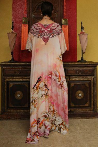 Printed-caftan-dresses-Floral-print-Caftan-floral-dresses