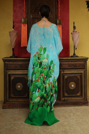 cactus-print-long-caftan-dress-printed-caftan-resort-wear