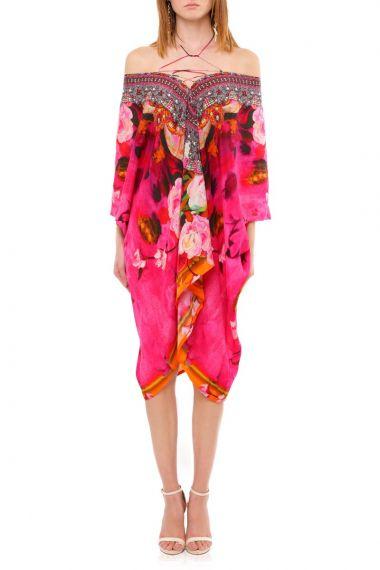 3-Ways-To-Wear-Short-Caftan-Dress