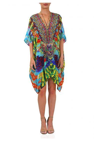 Printed-dresses-online-printed-caftan-dresses-in-snake-print