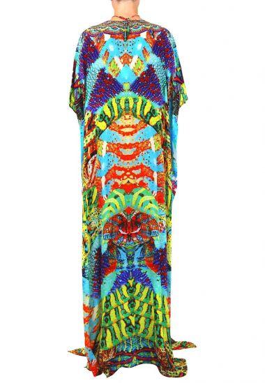 Printed-caftan-dress-animal-print-dresses-snake-print-caftan-dresses