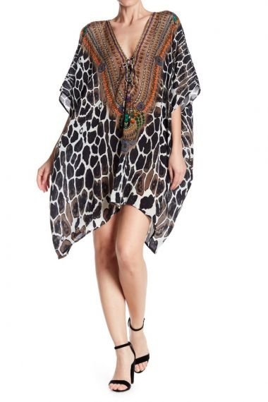 Animal-Print-Dresses-Short-Caftans-For-Women