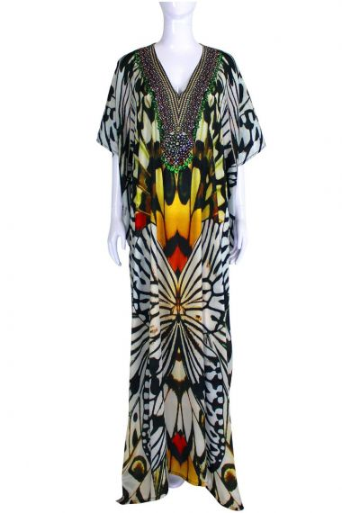 Black-caftan-long-dress-for-women