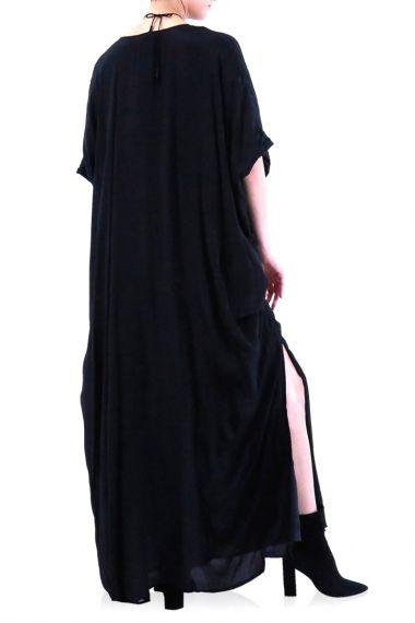 Black-Long-Caftan-Dress