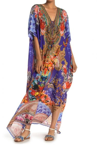 blue-caftan-dress-printed-long-dress-for-women