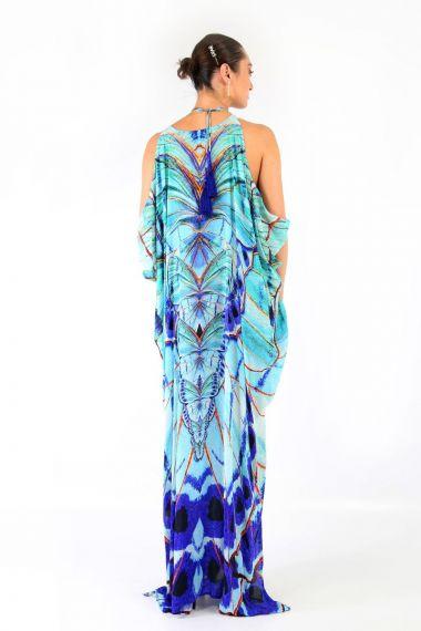 butterfly-print-designer-dresses-caftan-dresses