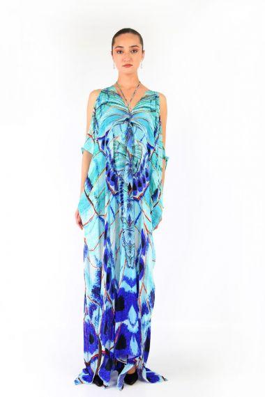 Designer-Long-Dresses-Cold-Shoulder-Long-Dresses