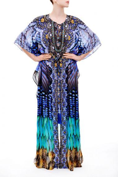 Embellished-Long-Caftan-Dress