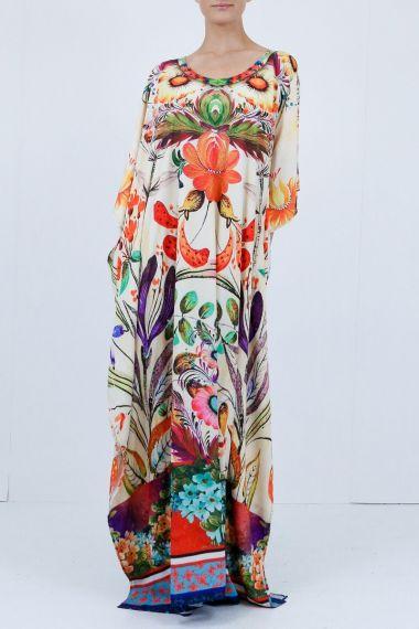 Printed-dresses-Floral-print-dresses-long-caftan