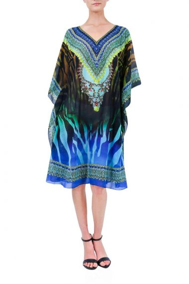 Short-caftan-dress-printed-caftan-dress