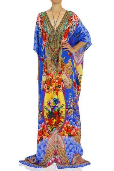 Long-Caftan-Dress-Printed-Caftan-Blue-Long-Dress