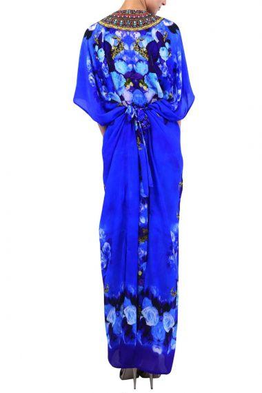 Long-Floral-Designer-Caftan-Dress