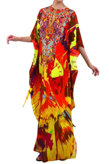 Long-Kaftan-Printed-Dress-Embellished-Caftan