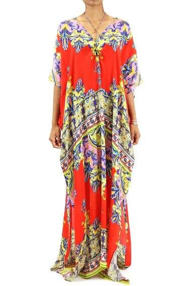 Luxury-Caftans-Printed-Long-Dress-For-Women
