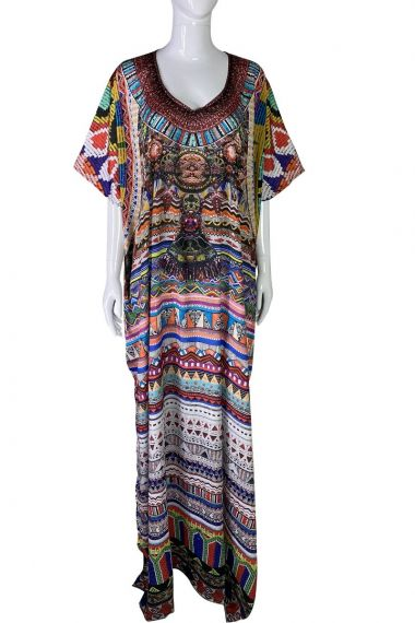 printed-caftan-long-dress-in-red