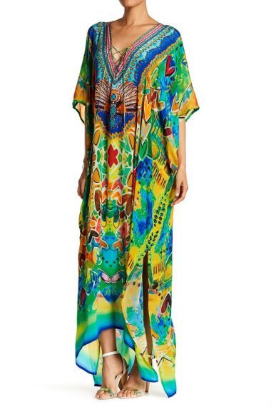 Printed-Long-Caftan-Dress-Silk-Caftans-for-Women
