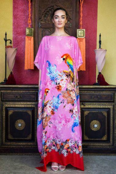 Printed-Long-Caftan-Dress