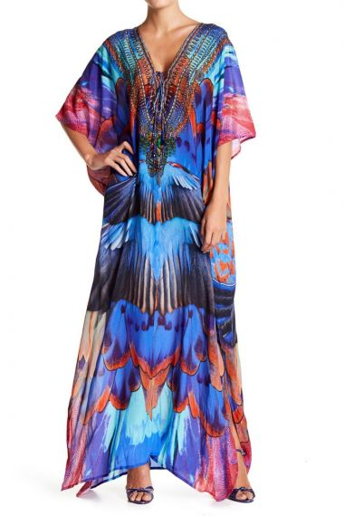 Printed-Long-Kaftan-Dress-Stylish-Caftan-Dresses
