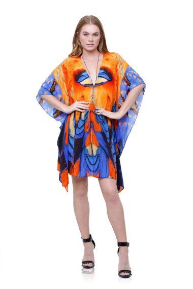 Printed-silk-dresses-designer-silk-short-caftan