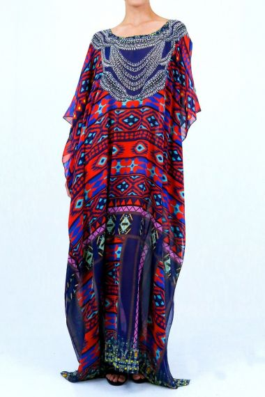 round-neck-caftan-blue-caftan-long