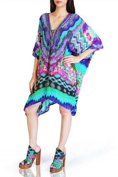 Luxury-Short-Caftan-Dress