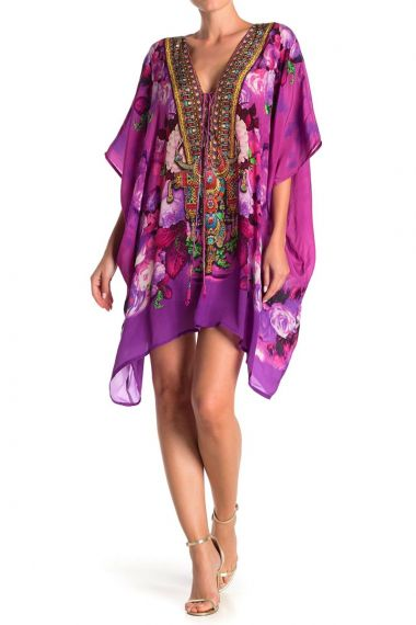 Short-Kaftan-Dress-floral-print-short-kaftan