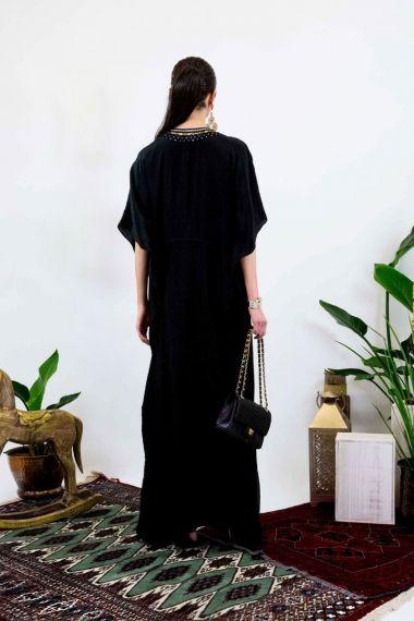 Short-Sleeve-Long-Luxury-Caftan