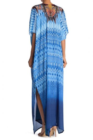 Stylish-caftan-long-dress-in-blue