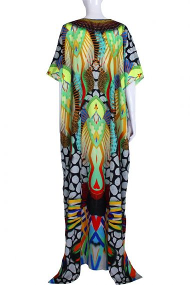 v-neck-caftan-dress-stylish-caftans