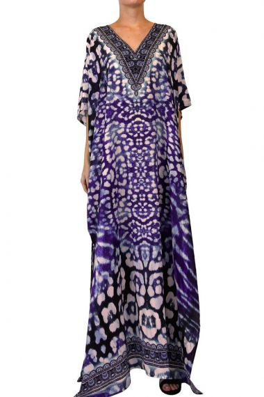 v-neck-dress-long-caftans-for-women
