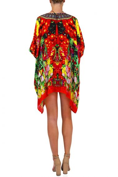 Women-Short-Embellished-Caftan