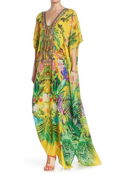 women's-caftan-dress-in-yellow