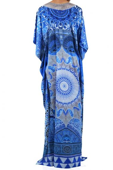 women's-v-neck-long-caftan-dress