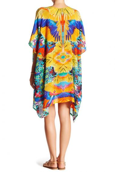 Yellow-Short-Caftan-Dresses-for-Women